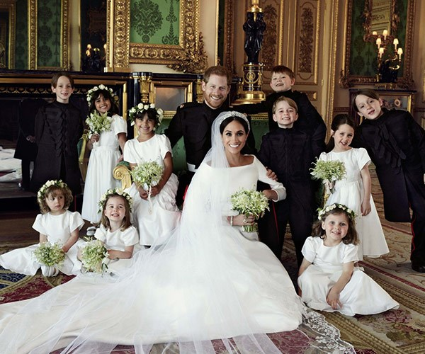 More royal wedding juice: Princess Charlotte was in charge, Wills & Kate were smitten & Harry & Meghan left early