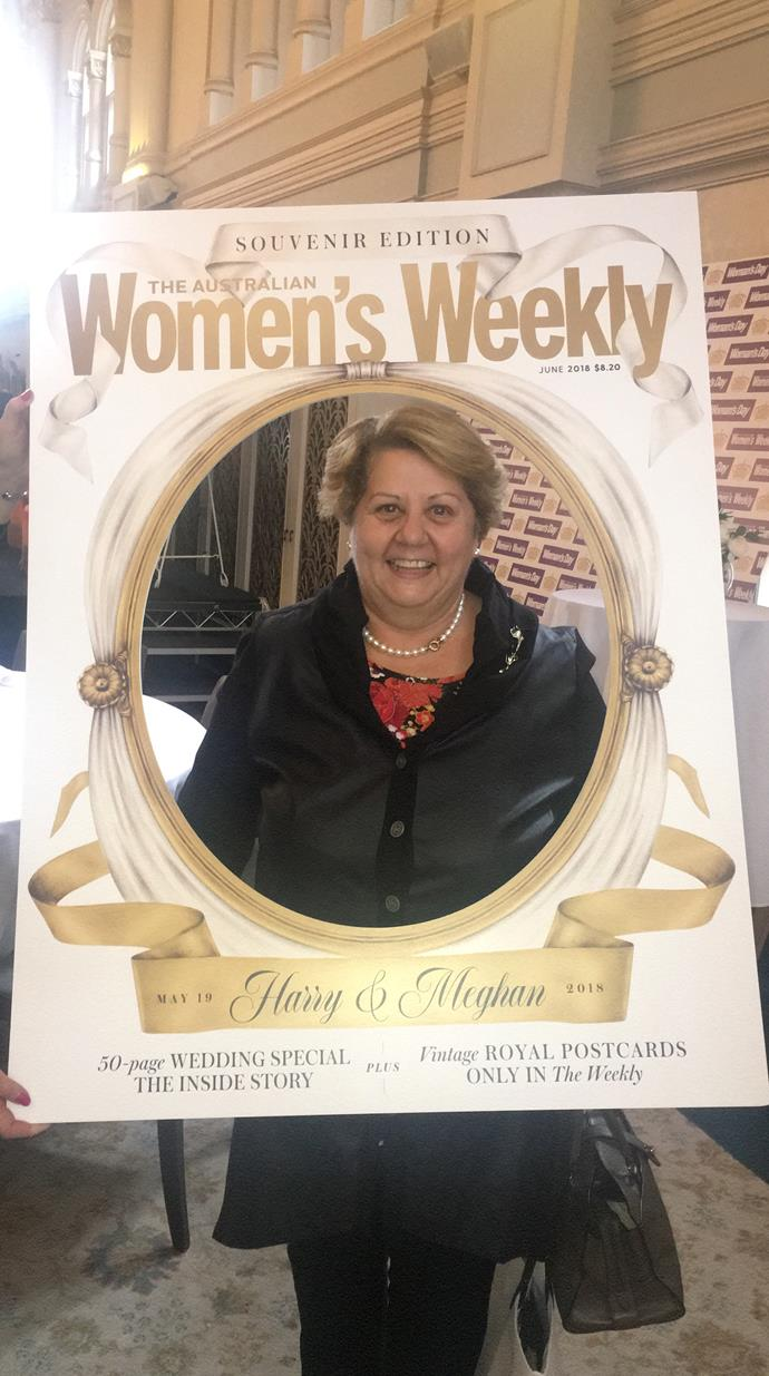 """I grew up in the country and on the farm, Women's Weekly was THE magazine,"" says Anne."