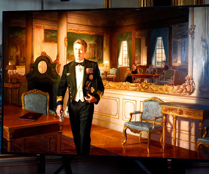 The official portrait of Prince Frederik for the big 5-0.