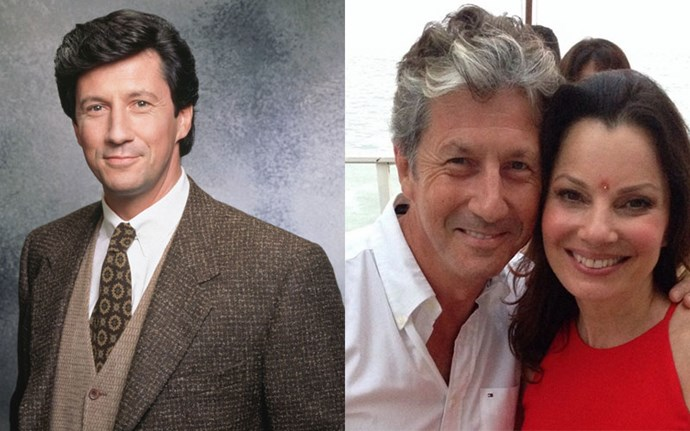 **Charles Shaughnessy (Max Sheffield)**  After *The Nanny,* Charles moved on to appear in several shows including *The Mentalist,* *Mad Men,* and *Saints & Sinners.* He was most recently seen in *Masters of Sex* and *The Magicians.* He made a guest appearance on Fran's sitcom *Living With Fran* in 2005, and the pair remain close today.