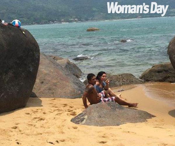 Schapelle and Ben were pictured on a Vietnam holiday in 2018.