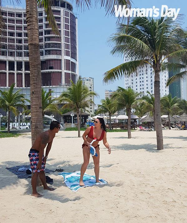 Their resort is on My Khe Beach, which is one of the most beautiful in the world.