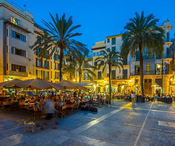 Mallorca has a buzzing night life.