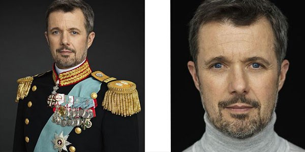 Two new portraits of the crown Prince by photographer Steen Evald.