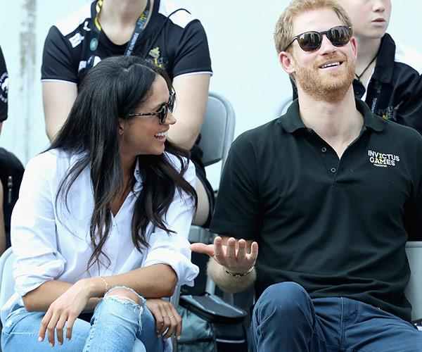 Meghan and Harry will be in Australia for the games.