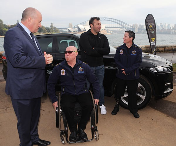 The Invictus Games kick off in Sydney on October 20th.