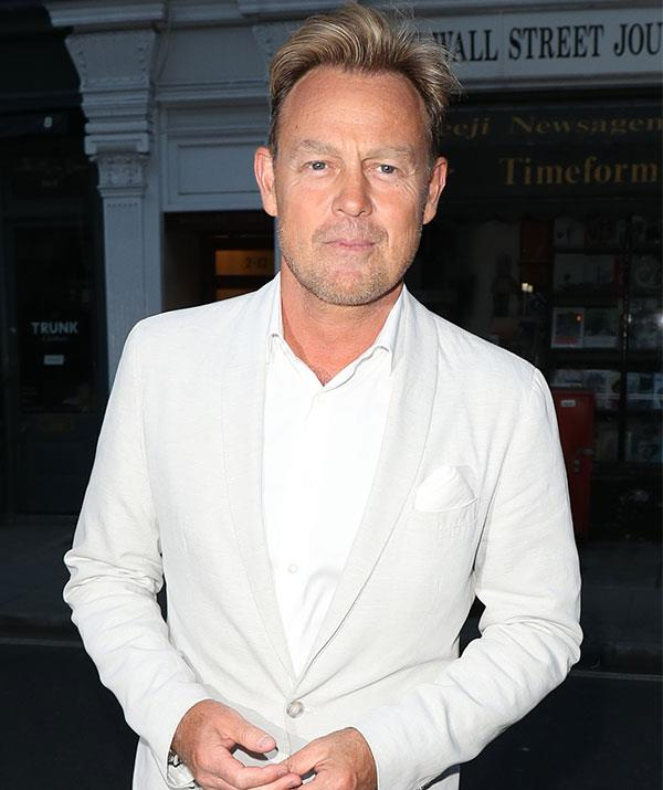 It's a *Neighbours* reunion! Jason Donovan steps out for the birthday bash.
