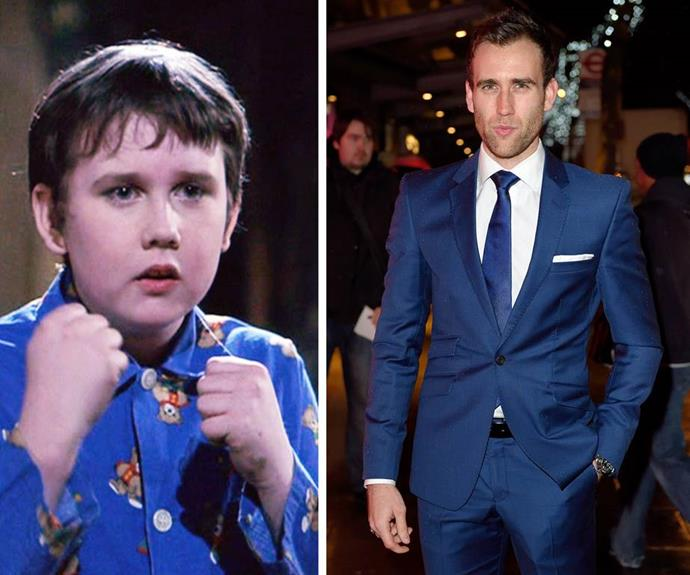 Not even the Mirror of Erised could foresee Neville Longbottom becoming... THAT! Matthew Lewis, we thank you for everything.