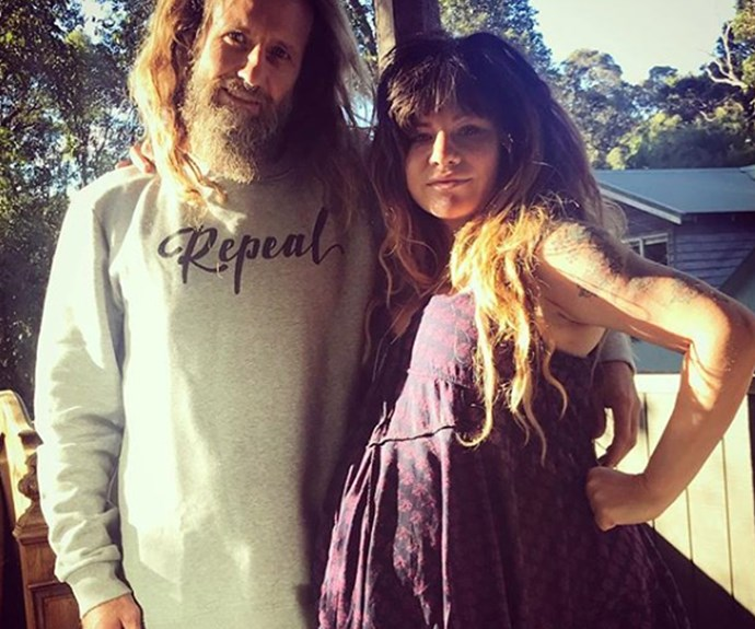 Constance Hall and her husband Denim Cooke have welcomed their first child together.