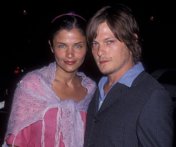 Norman and his ex Helena Christensen.