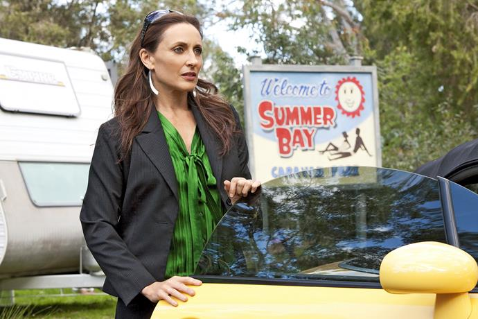 Roo's return to Summer Bay was not without its hiccups.