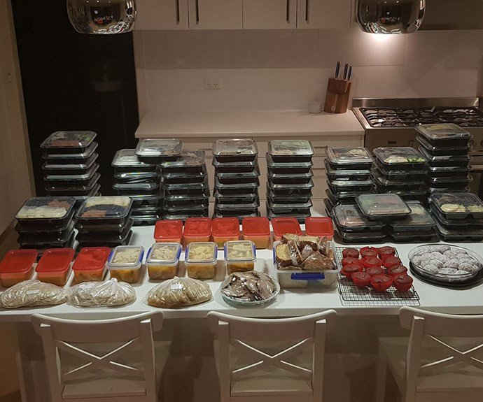 In just one weekend, Melissa and Rachel cooked over 100 meals for their families, saving themselves time, money and a whole lot of washing up!