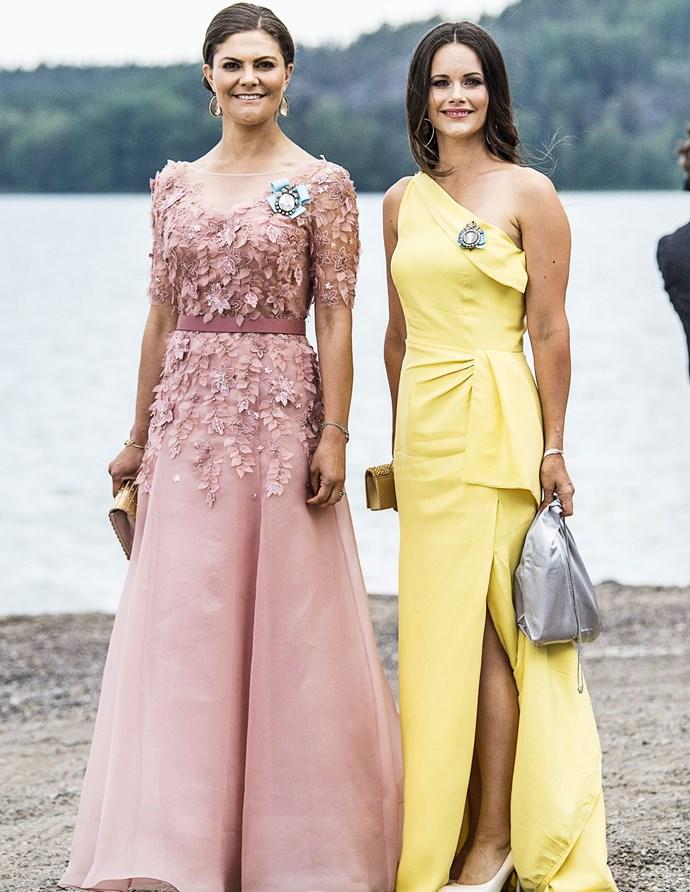Crown Princess Victoria and Princess Sofia.