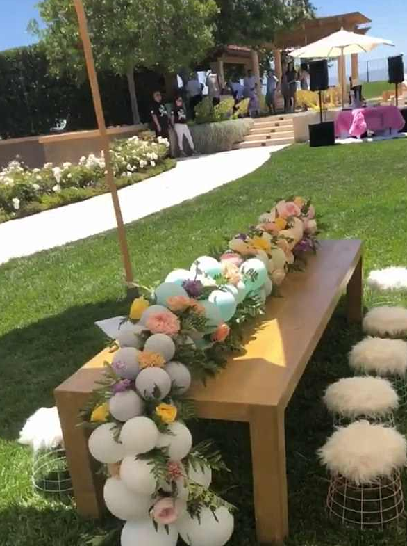 A six-year-old's birthday party or a wedding reception? You be the judge.