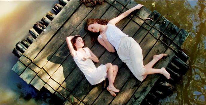 Sara and Miranda in happier times.