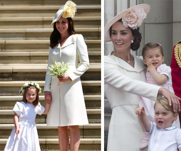 Kate loves keeping things stylishly safe at Royal events.