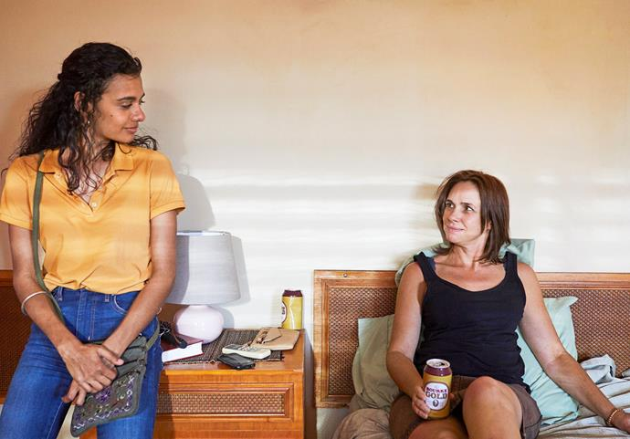 Madeleine stars alongside Tasma Walton in *Mystery Road.*