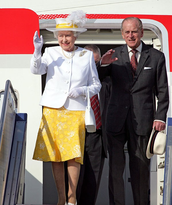 Untouchable: The Queen is the only person in the world who doesn't need a passport.