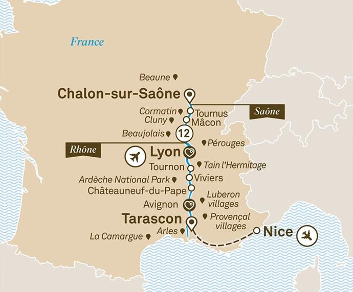 Chalon-sur-Saône > Marseille