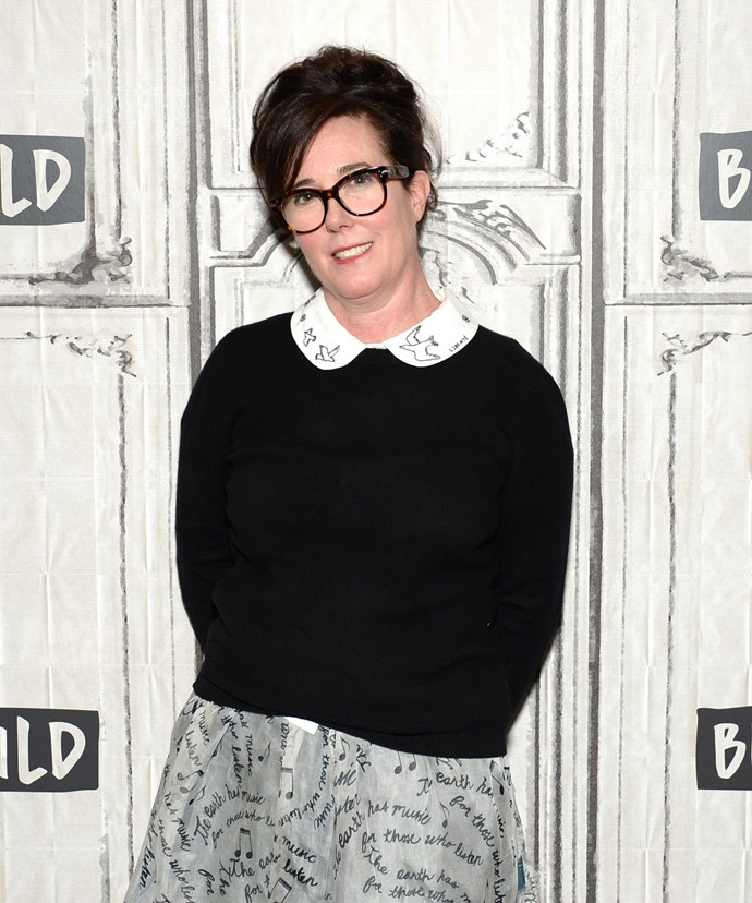 Kate is survived by her husband, Andy Spade, and 13-year-old daughter.