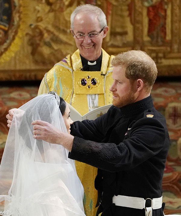 The Most Reverend Justin Welby also presided over Meghan and Harry's wedding.