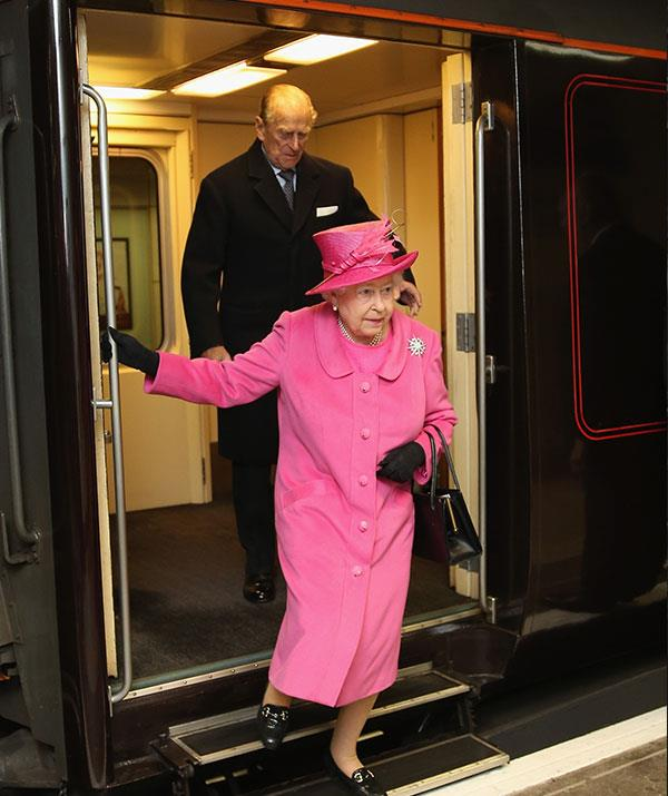 All aboard the Lizzie express!