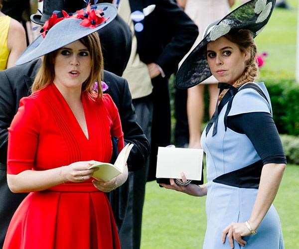 Although close family members are not usually chosen, Princess Eugenie and Princess Beatrice are just as close in relation to Prince William as Zara Phillips, Prince George's godmother, is.
