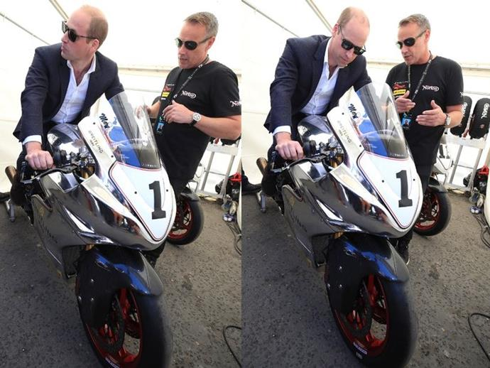 Prince William In Trouble With Kate For His Motorbiking
