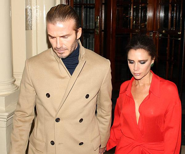 There's speculation Posh wanted to announce the split in an upcoming issue of *Vogue*.