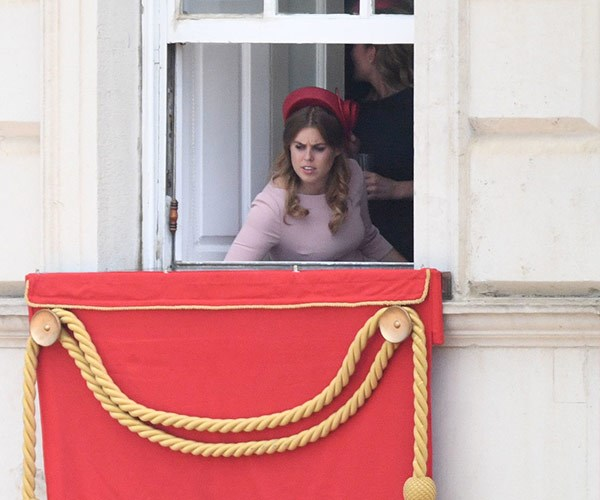 Princess Beatrice is in awe of the festivities.