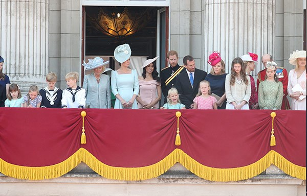 Seeing the royals stand on the Palace Balcony dates back to Queen Victoria's time, who would stand there to greet her soldiers after battle.