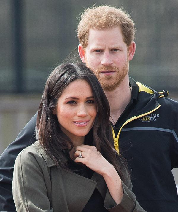 Prince Harry and Meghan Markle, pictured at the UK trials for the Games in Bath over the weekend, will make their first overseas trip as husband and wife to our sunny shores this October!