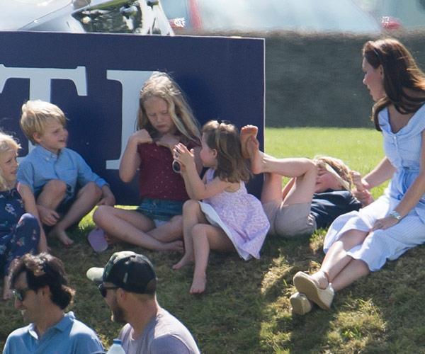 Savannah Phillips certainly has a royal fan club.