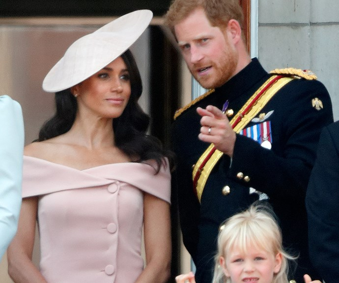 Harry explains to his wife how the event unfolds.