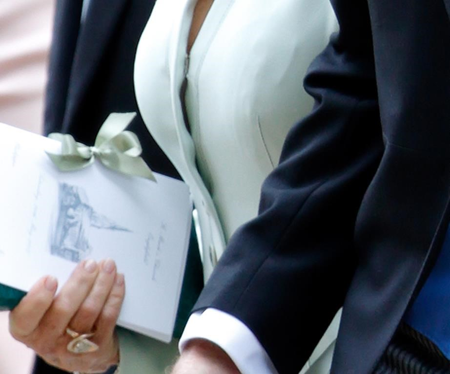 Duchess Catherine drew the image of the church for sister Pippa Middleton's order of service for her wedding last year.