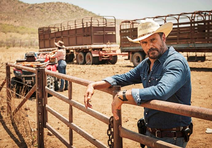 "Aaron says if *Mystery Road* is the biggest part of his career, he'll be ""grateful."""