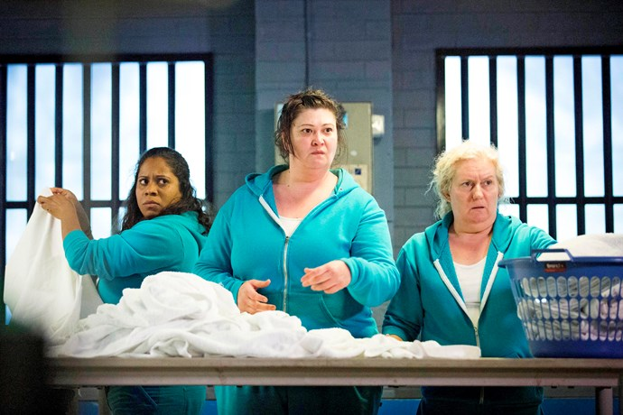 Celia (far right) is nominated for Most Outstanding Supporting Actress.