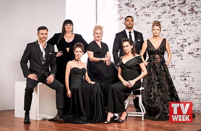 Bernard Curry, Katrina Milosevic, Kate Atkinson, Celia Ireland, Nicole Da Silva, Robbie Magasiva and Tammy Macintosh.