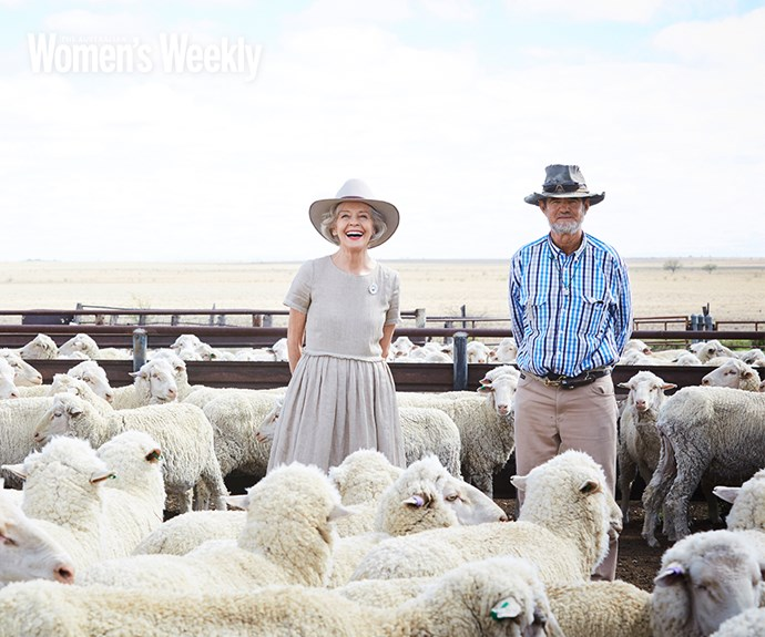 *The Weekly* travelled to Winton this month with Dame Quentin Bryce to learn about her deep love for the bush.