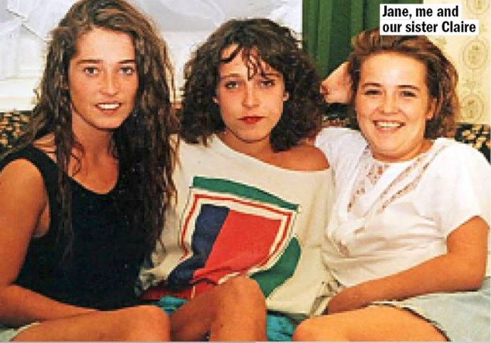Jane, Maxine and sister, Claire **source: supplied**