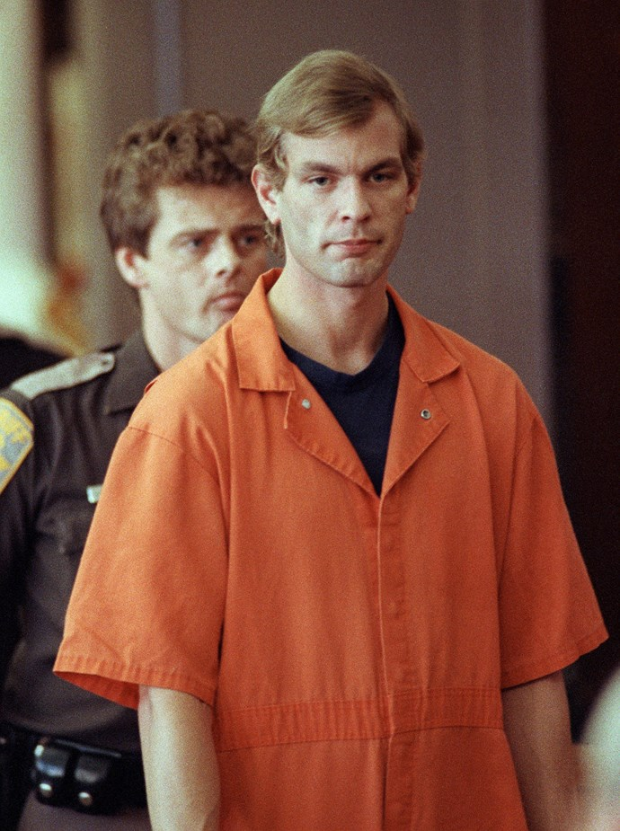 "***Dahmer on Dahmer: A Serial Killer Speaks* on hayu.**  Jeffrey Dahmer was one scary serial killer. From 1978 to 1991, he killed at least 17 boys and men. Dubbed ""The Milwaukee Cannibal"", Jeffrey dismembered and even ate parts of some bodies, and kept pieces of others as trophies.   When he was caught, he received 16 life sentences and was led away to jail. This latest look at his life features interviews with his family, classmates, psychiatrists who examined him, and even one of the detectives who was involved in the investigation."