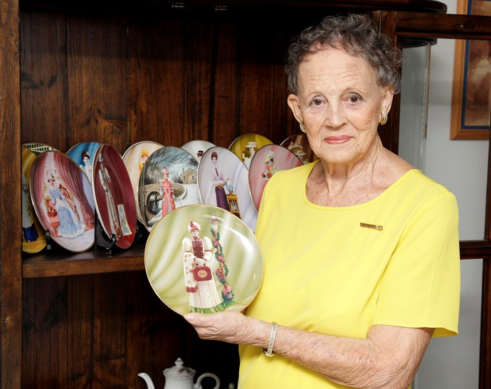 The 84-year-old has always been proud to sell the products – and uses them herself.