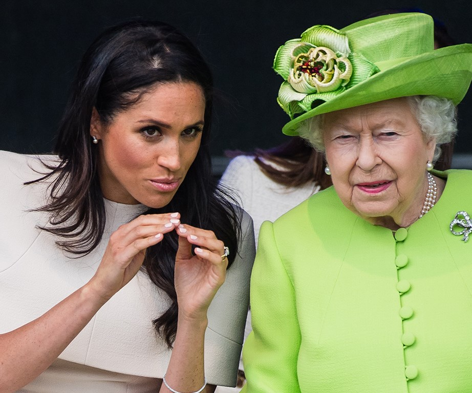 Getting down to serious Royal business.