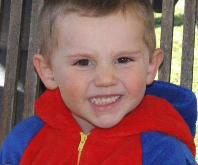 William was just three-years-old when he disappeared from his grandmother's yard in Kendall, NSW.