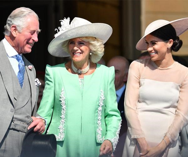Meghan has a strong bond with her father in law Charles