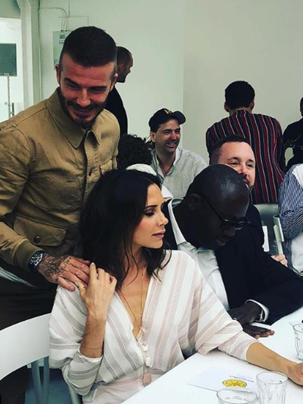 The Beckham's have been using social media to offset any rumours claiming the family are in crisis.