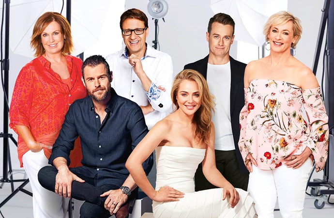 Tracy, Rodger, Andrew, Jessica, Grant and Amanda are nominated for the Gold Logie Award.
