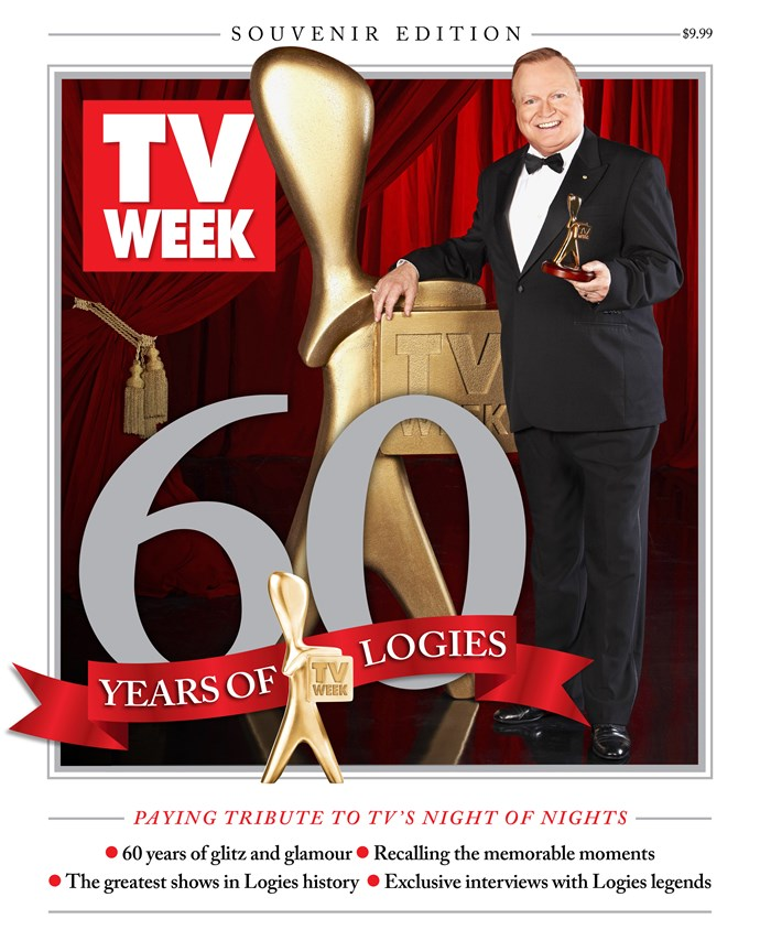 To relive more glorious golden moments, pick up a copy of TV WEEK's special souvenir edition celebrating 60 years of the Logies. On sale now!