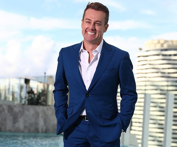 """It's really lovely and quite humbling,"" Grant tells us of his Gold Logie nomination."