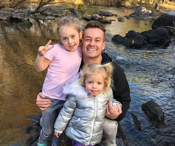 Grant is the proud dad to two beautiful daughters, Sailor and Scout.